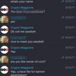 【仮想通貨】クリプトカレンシーマガジンを装った詐欺が横行、海外のプロジェクトがターゲットにされる。