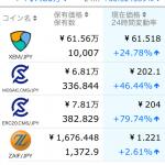 【仮想通貨】1日で20万近く含み益増えてワロタwwwwwwww