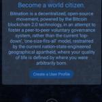 【仮想通貨】Bitnation:最初のMVPが登場、グーグルプレイでダウンロードし国家の作成が可能