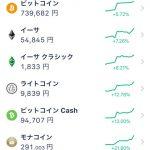 【朗報】仮想通貨さん、軒並み価格が上昇!!バブル再来かな!?