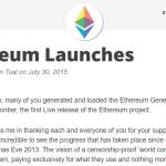 【一押しツイートまとめ】イーサリアム(Ethereum)4周年の軌跡とETHの今後~前編~