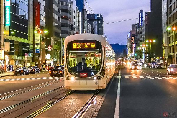 壮大だった「広島の地下鉄」計画、なぜ頓挫したのか「路面電車王国」の過去広島電鉄路線図年4月末現在で119万6000の人口を抱える広島市には、中心部と北西部を結ぶ新交通システムのアストラムラインに300mほどの地下区間はあるものの、本格的な地下鉄の路線網は整備されていません