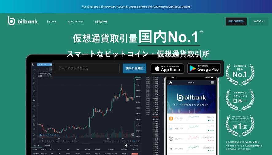 bitbank新規口座登録