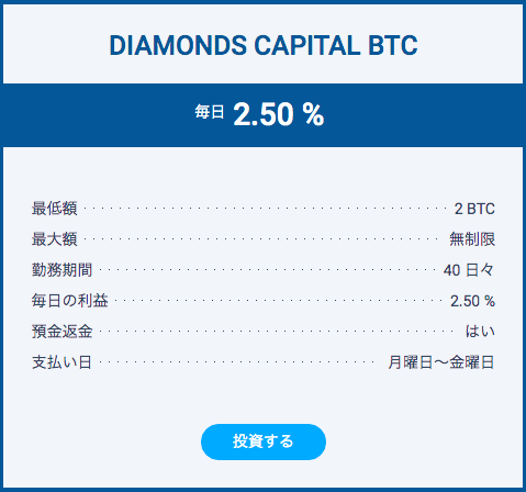 DIAMONDS CAPITAL BTC