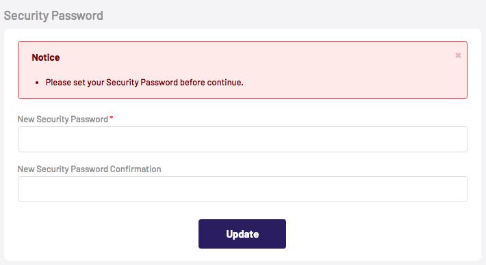 センチネルマーケットセキュリティパスワード